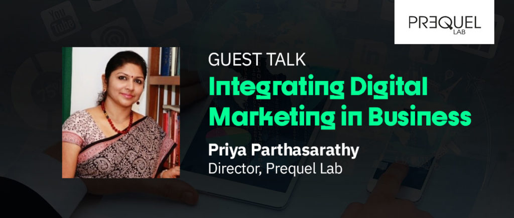 Priya Parthasarathy Guest Talk Image