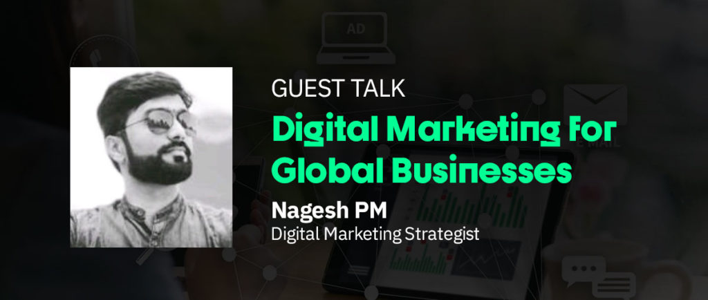 Nagesh PM Guest Talk Image