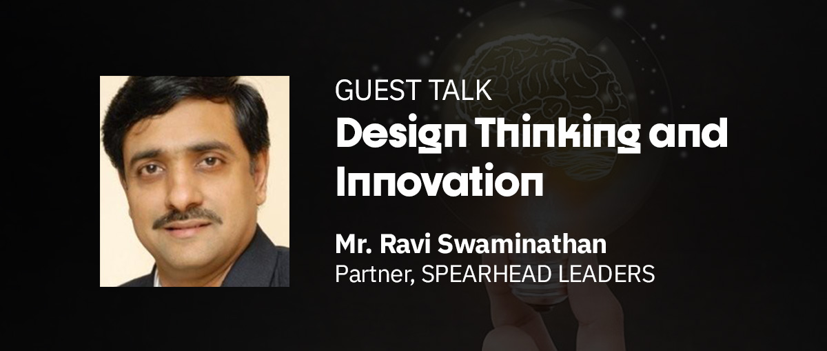 Mr. Ravi Swaminathan Guest Talk Image